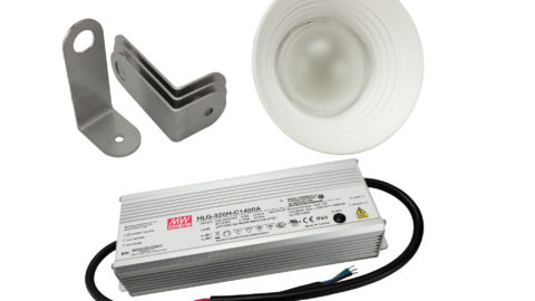 More Meanwell Power and hard as steel brackets for your LED!